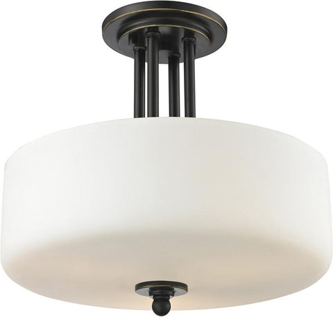 Z-Lite 414SF 3 Light Semi Flush Mount - ZLiteStore
