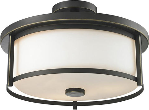 Z-Lite 413SF16 3 Light Semi Flush Mount - ZLiteStore