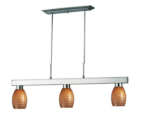 Z-Lite 152BN-131CARAMEL 3 Light Billiard Light - ZLiteStore