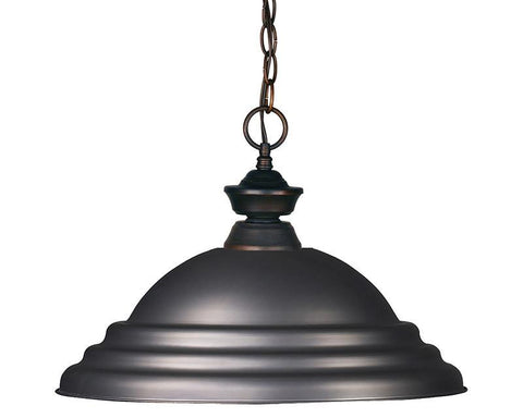 Z-Lite 100701OB-SOB 1 Light Pendant - ZLiteStore