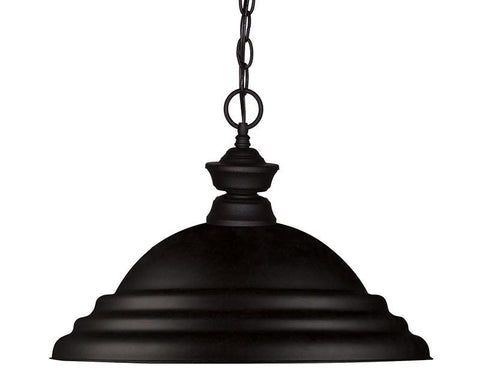 Z-Lite 100701MB-SMB 1 Light Pendant - ZLiteStore