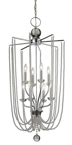 Z-Lite 429-8C-CH 8 Light Pendant - ZLiteStore