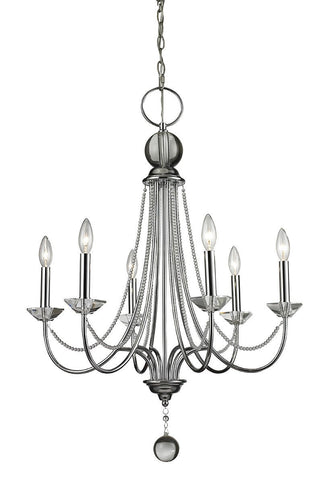 Z-Lite 429-6-CH 6 Light Chandelier - ZLiteStore