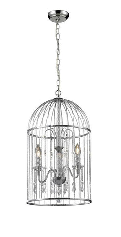 Z-Lite 885CH 3 Light Crystal Chandelier - ZLiteStore