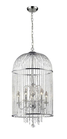 Z-Lite 886CH 5 Light Crystal Chandelier - ZLiteStore