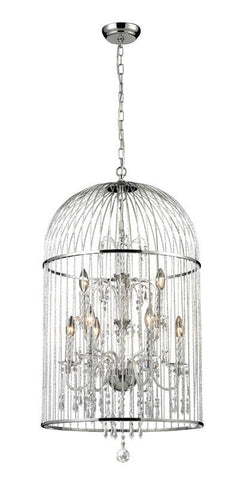 Z-Lite 887CH 9 Light Crystal Chandelier - ZLiteStore