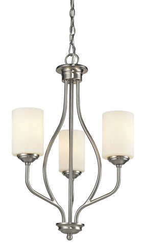 Z-Lite 434-3-BN 3 Light Chandelier - ZLiteStore