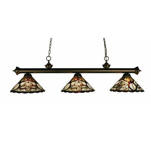 Z-Lite Albany Olde Bronze 3 Light Island/Billiard 100703OB-Z14-10 - ZLiteStore