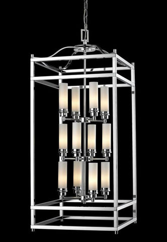 Z-Lite 180-12 Altadore Collection Chrome Finish 12 Light Pendant - ZLiteStore