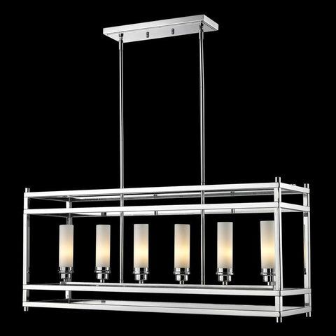 Z-Lite 180-6 Altadore Collection Chrome Finish 6 Light Pendant - ZLiteStore
