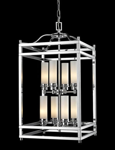 Z-Lite 180-8 Altadore Collection Chrome Finish 8 Light Pendant - ZLiteStore