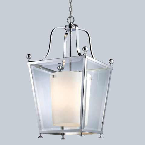 Z Lite Ashbury Collection Chrome Finish Four Light Pendant - ZLiteStore