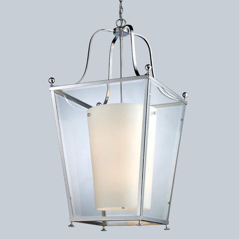 Z Lite Ashbury Collection Chrome Finish Six Light Pendant - ZLiteStore