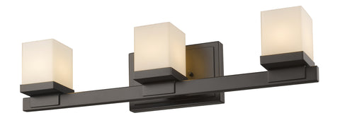 Z-Lite 1913-3V-BRZ-LED Cadiz Collection Bronze Finish 3 Light Vanity Light