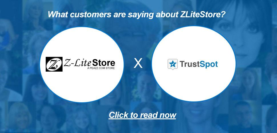 ZLiteStore Customer Testimonials via TrustSpot