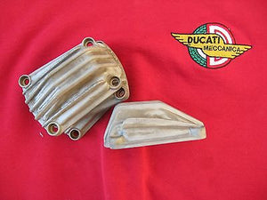 Ducati 900, 860 Square Case, Bevel Drive Twin Magnesium  (4) Valve Cover Set