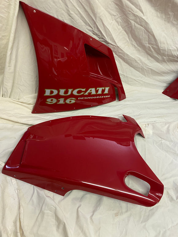 Ducati 916 Superbike OEM LH Lower Panel