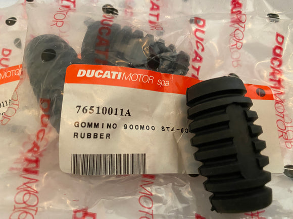 Ducati NOS Foot Peg Rubber, #76510011A