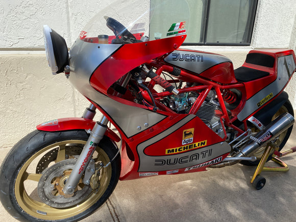 Ducati TT 1000 Racer for Track or Road-Updated