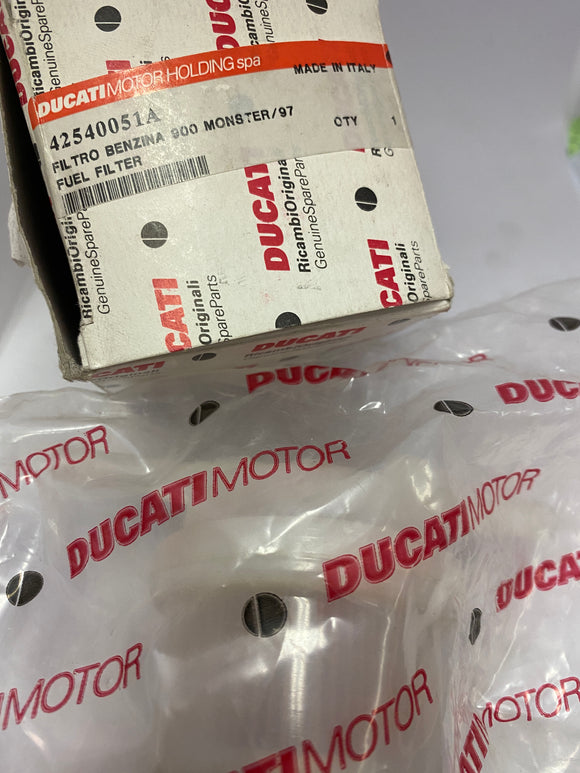 Ducati 900 Monster NOS Fuel Filter, #42540051A