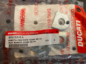 Ducati 1000 NOS Head washers, #85610242A