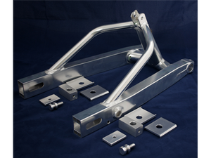 Ducati TT Box Section Swing Arms by TGA/Molnar Precision LTD