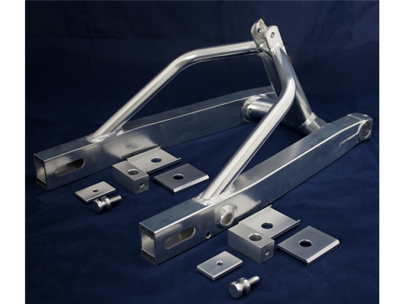 Ducati TT/F1  Box Section Swing Arms by TGA/Molnar Precision LTD