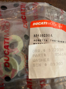 Ducati 996-748 Superbikes & Derivatives NOS Washer, #85610231A
