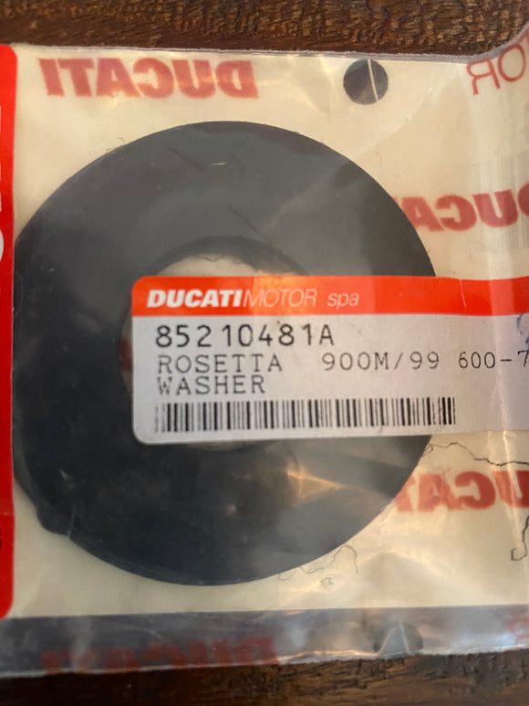 Ducati 900 Monster & Derivatives, Handlebar NOS Washer #85210481A