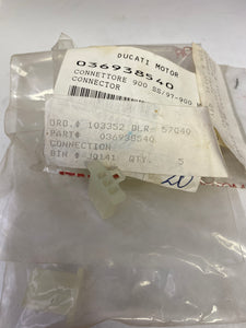 Ducati NOS Electrical Connector, #036938540