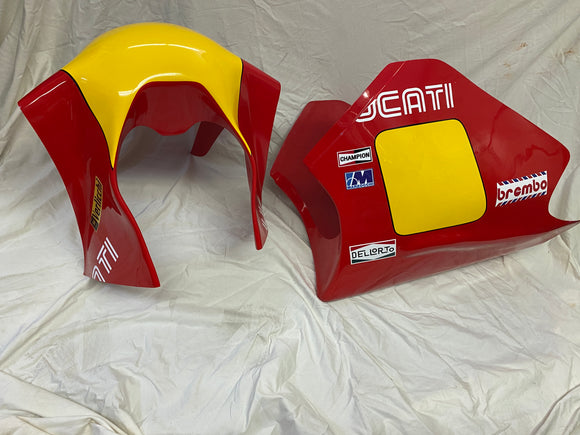 Ducati TT 2 Painted Race Fairings