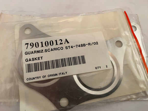 Ducati 996, 748 Superbikes & ST4 NOS Exhaust Gaskets, #79010012A