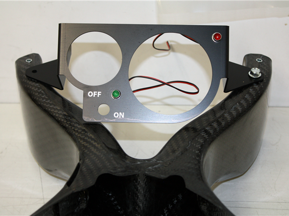 Ducati 888 Race Dash Bracket