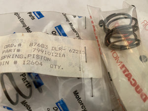 Ducati 916 Superbikes, 900SS & Monsters, NOS Clutch Slave Spring, #79910121A