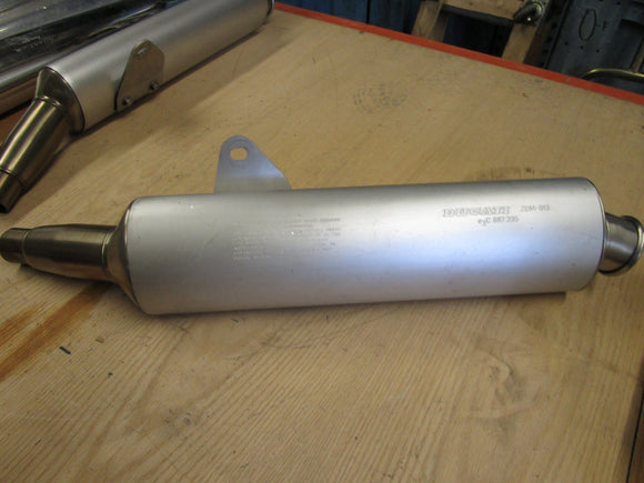 Ducati Monster OEM Exhaust Left Hand Muffler/Silencer #57410351A