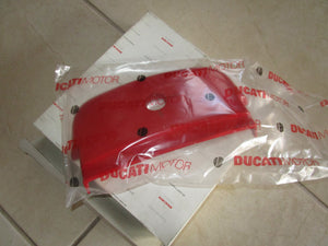 Ducati Super Sport OEM Red Lock Cover, #24730911A