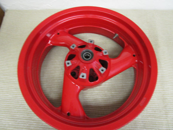 Ducati/Brembo Rear OEM 3 Spoke Red Rear Wheel for Supersport