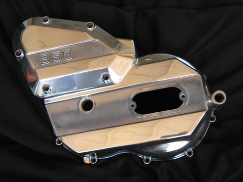 "Ducati  ""Square Case"" 860 Bevel Drive Engine Covers"