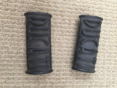 Ducati Single Foot Peg Rubber Set