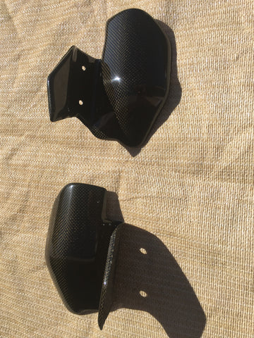Ducati Monster Carbon Fiber Exhaust Guards