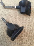 Black Aprilia Turn Signal Set for Bevel Drives