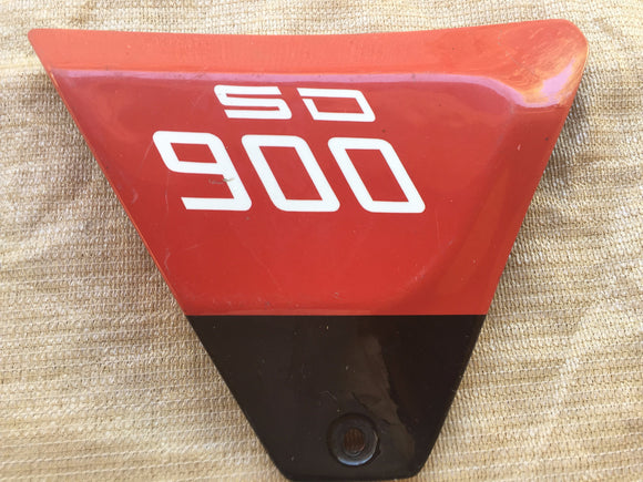 Ducati 900 SD RH Red Side Cover