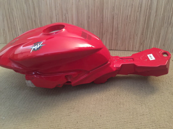 MV Agusta F3 Superbike Fuel Tank in Red