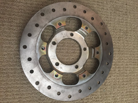 320 mm Rear Brake Rotor with Magnesium Carrier