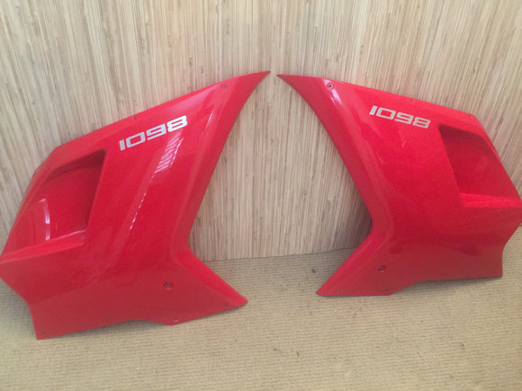 Ducati 1098 Superbike Upper Front Fairing Set RH&LH