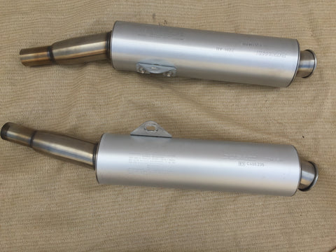 Ducati 900 SS and early 888/851 Superbike Mufflers, ZDM A11 & ZDM B11