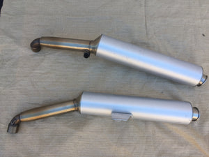Ducati ST 2, ST3 & ST4 Spourt Touring Set of Exhaust Mufflers/Silencers, ZDM A27&B27
