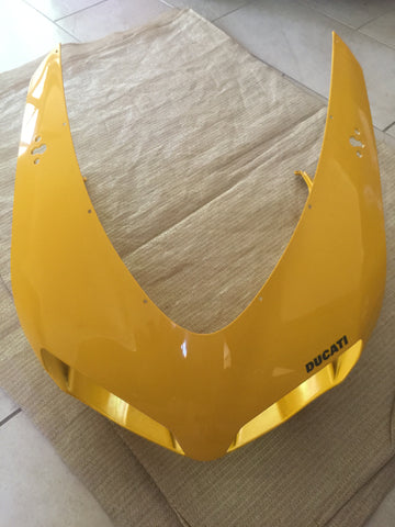 Ducati 1098 Superbike & Derivatives Yellow OEM Front Fairing/Cowling