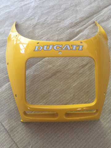 Ducati 900 ss Yellow OEM Front Fairing/ Fairing, #48130041A