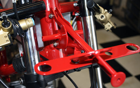 Ducati TT 2 Clock & Fairing Bracket by Two Wheel Classics-UK